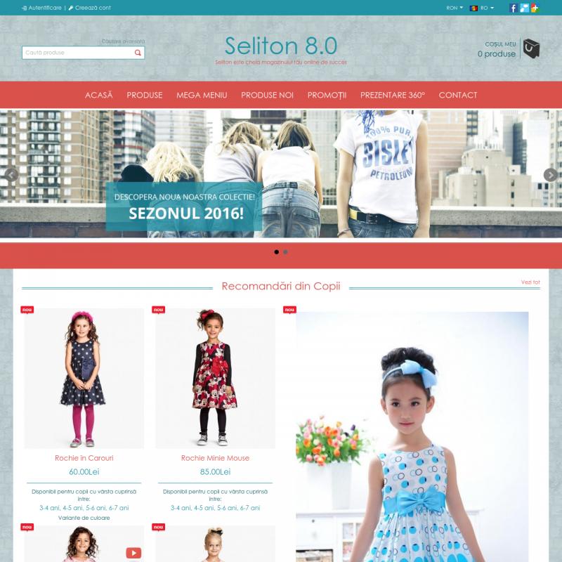 Seliton | International Package